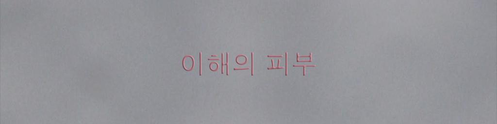 """Third skin"" in Korean"